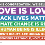 Love is love sign