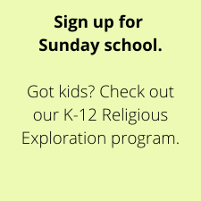 Sign up for Sunday School